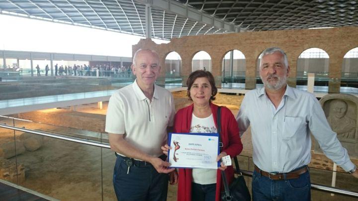 VISITANTE 500.000 EN LA VILLA ROMANA LAOLMEDA