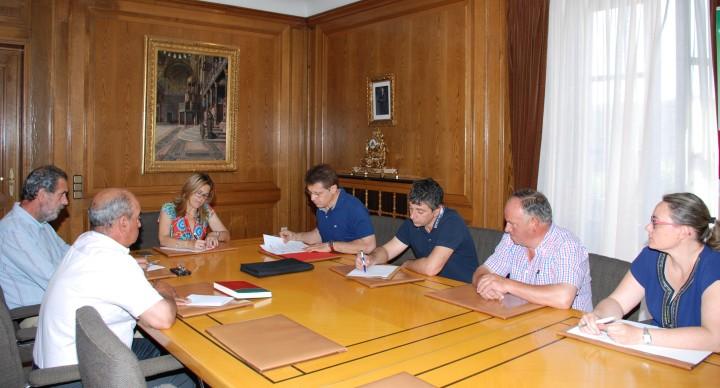Reunión entre la Diputación y la Alianza del Campo para colaborar en proyectos agrarios en laprovincia