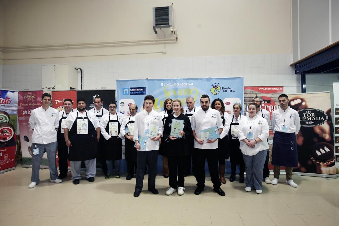 Jovenes Cocineros alimentos de Palencia