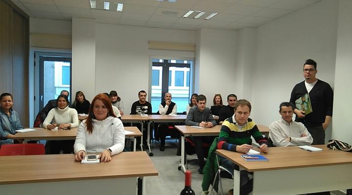 Interés en Aguilar de Campoo por la formación en el servicio de sala y la mejora del sector Hostelero y de laRestauración