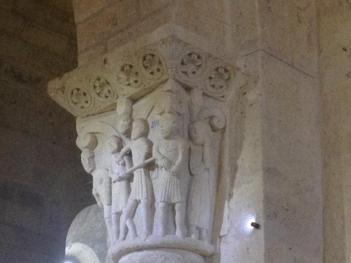 capitel romanico fromista