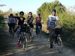 Bicis por el Canal de Castilla