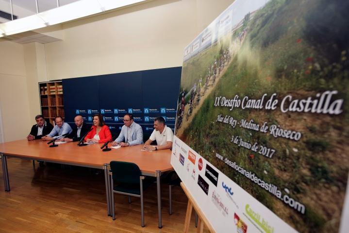 El IX Desafío Canal de Castilla recorrerá la infraestructura hidráulica desde Alar del Rey a Medina de Rioseco el próximo sábado día 3 dejunio