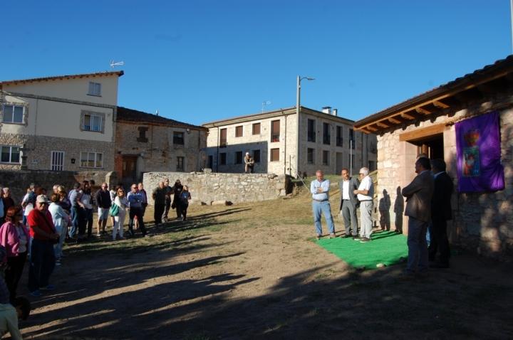 Luis Rey inaugura la Fragua de Abejar rehabilitada a través las ayudas de conservación, reparación y mejora de edificiossingulares