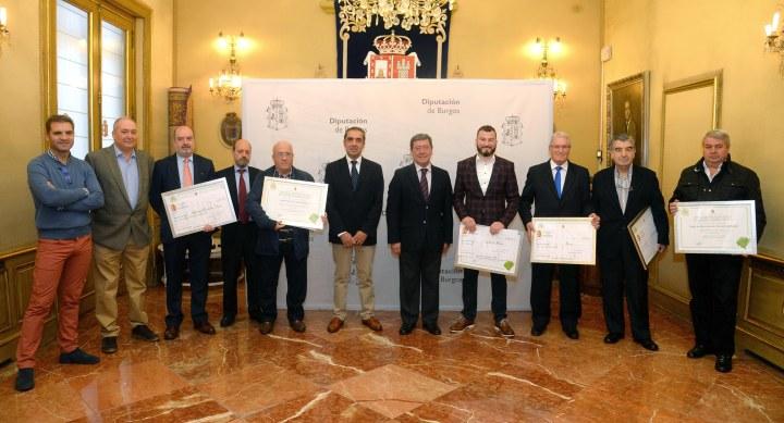 Seis Entidades Locales reciben los Premios Provinciales de Medio Ambiente2017