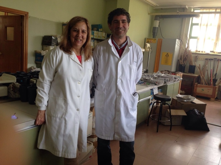 Mercedes-Sanchez-y-Juan-Manuel-Antolin-investigadores-de-la-Universidad-de-Valladolid