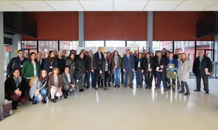 Los miembros del Proyecto String de la Unión Europea se acercan a conocer el potencial innovador de la Incubadora de Empresas Biotecnológicas de Castilla yLeón