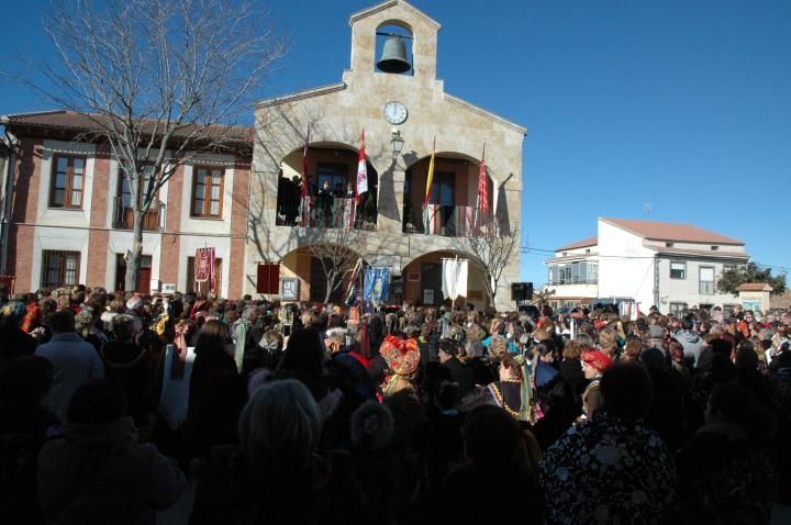 El III Encuentro Provincial de Águedas reúne a más de 1.200 mujeres enVillafáfila
