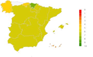 Mapa de rating de riesgo