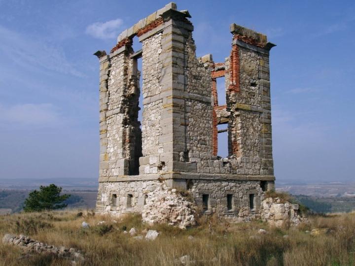 Restos de la torrede Prádanos de Bureba-Briviesca