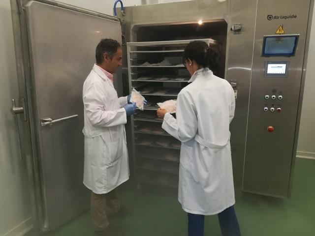 El Itacyl ofrece al sector agroindustrial un servicio de ultracongelación para productos cárnicos en la Estación Tecnológica de la Carne de Guijuelo ante elCovid-19