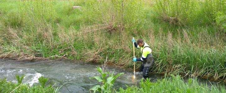 La CHD inicia la campaña de muestreos biológicos en ríos de la cuenca para evaluar el estado de las masas deagua