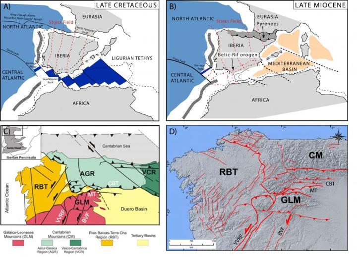 La presión producida por los fluidos y las elevadas temperaturas causa de los terremotos en ElBierzo
